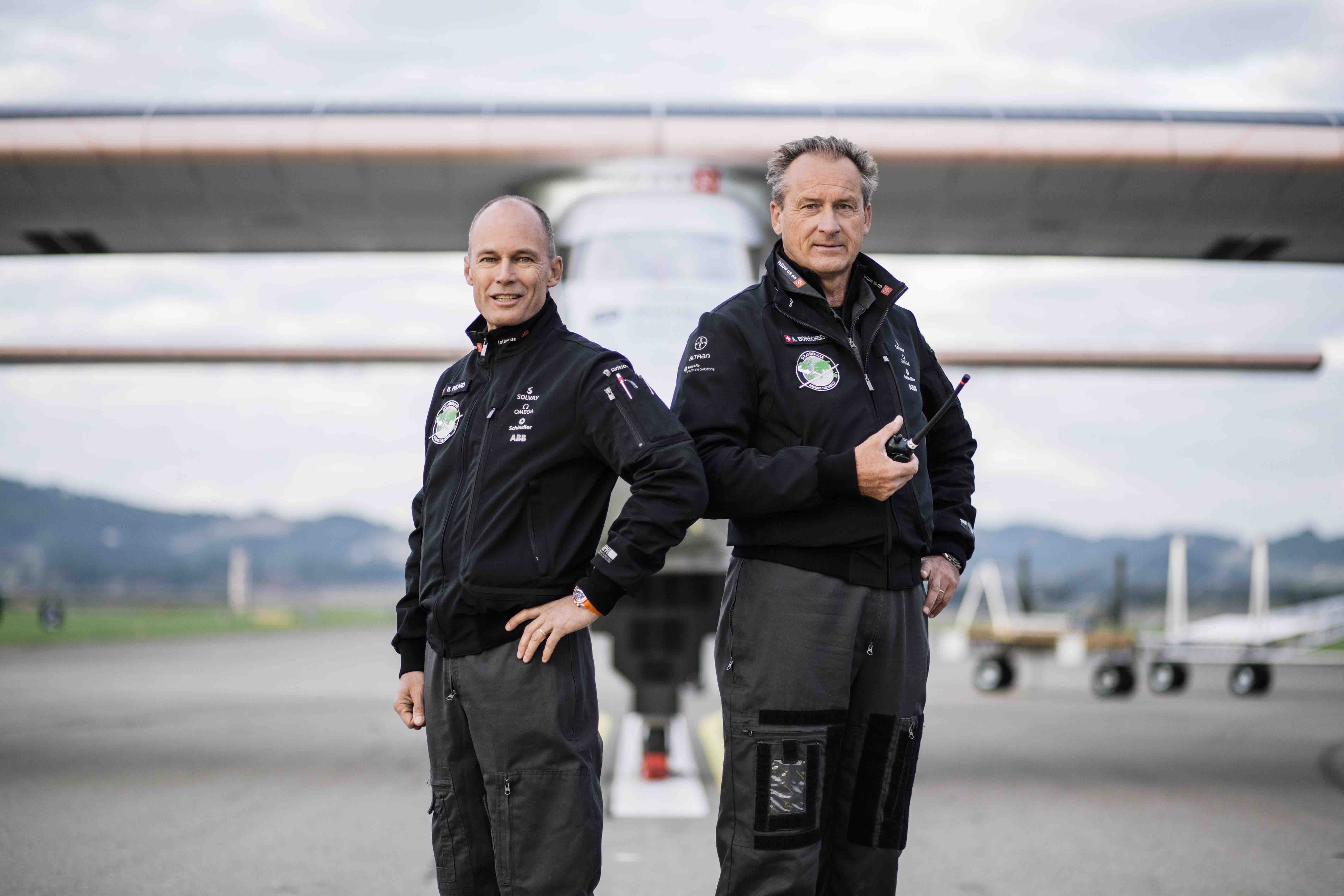 Solar Impulse 2 second flight