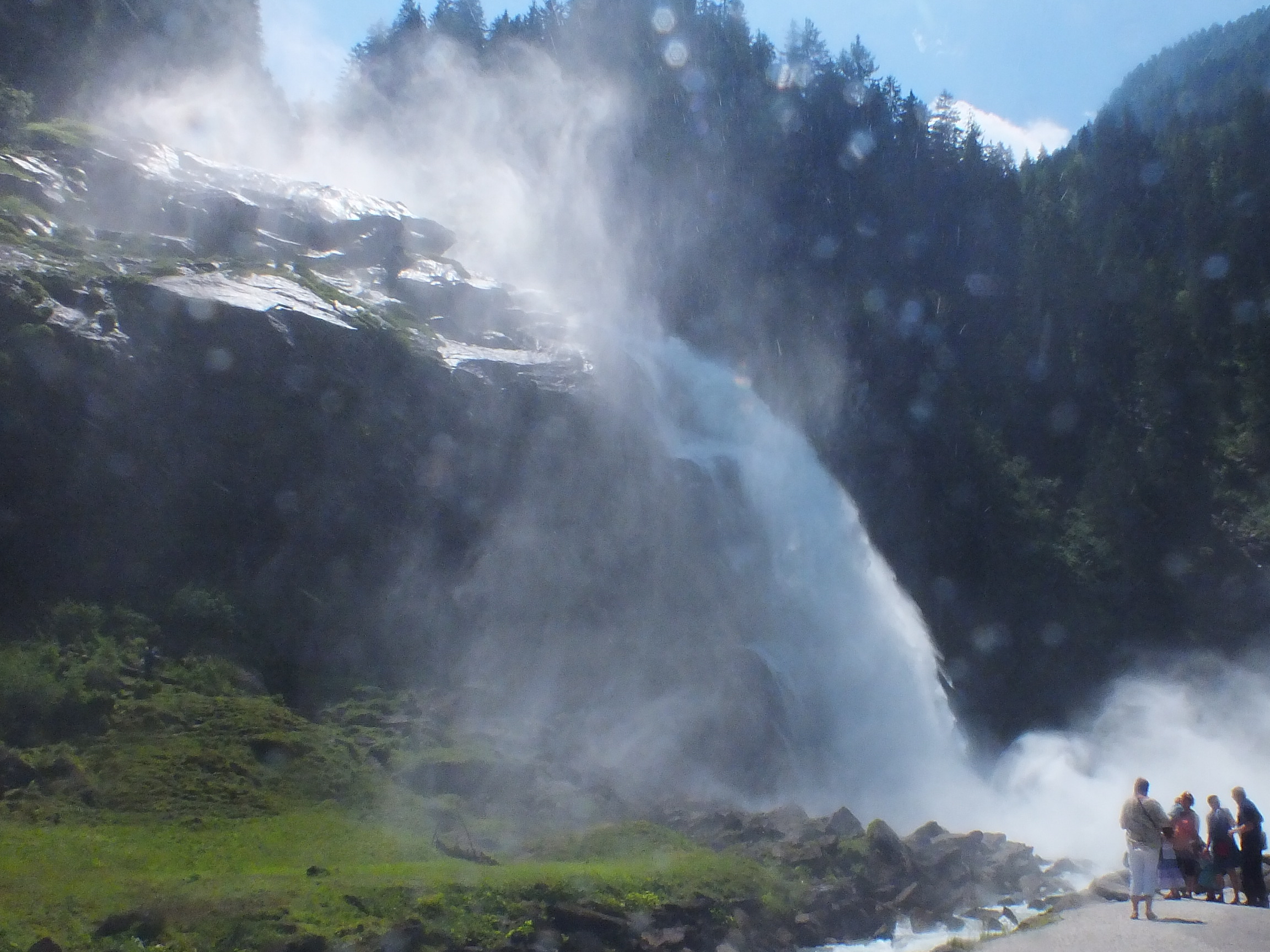 Shearings Splendors of The Austrian Tyrol 19/06/2012 - Day 8 - Krimml Falls