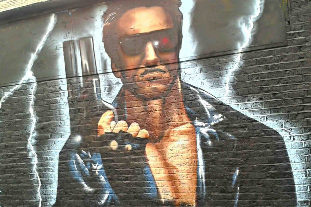 出典: |Wikipedia|https://commons.wikimedia.org/wiki/Category:The_Terminator#/media/File:Graffiti_in_Shoreditch,_London_-_The_Terminator_by_Graffiti_Life_(9425010886).jpg