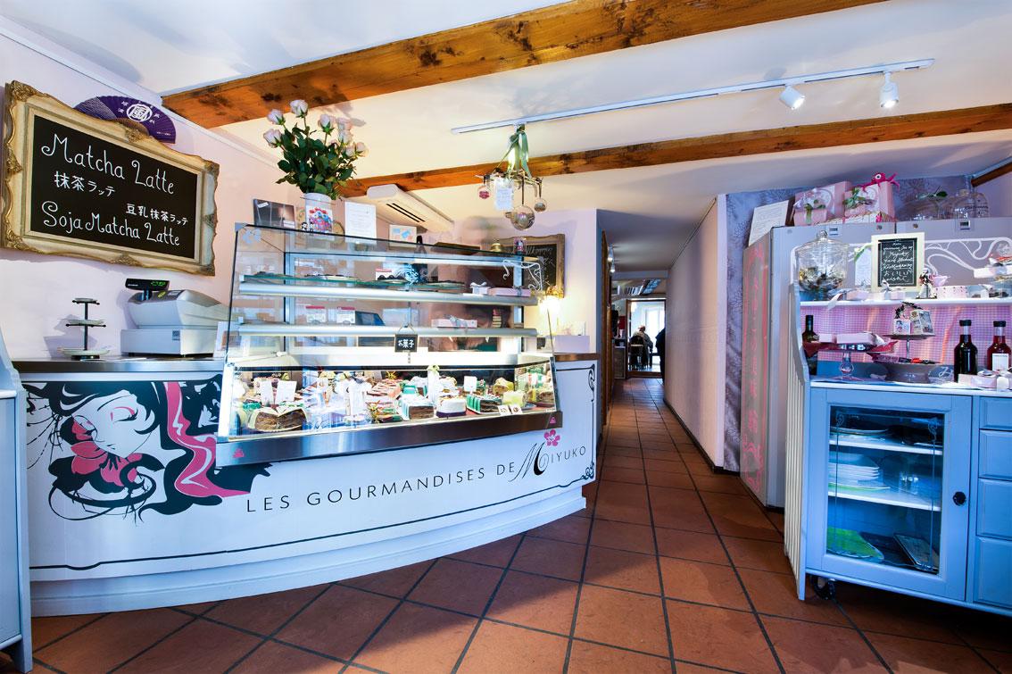 Miyuko Cafe Zurich Inside