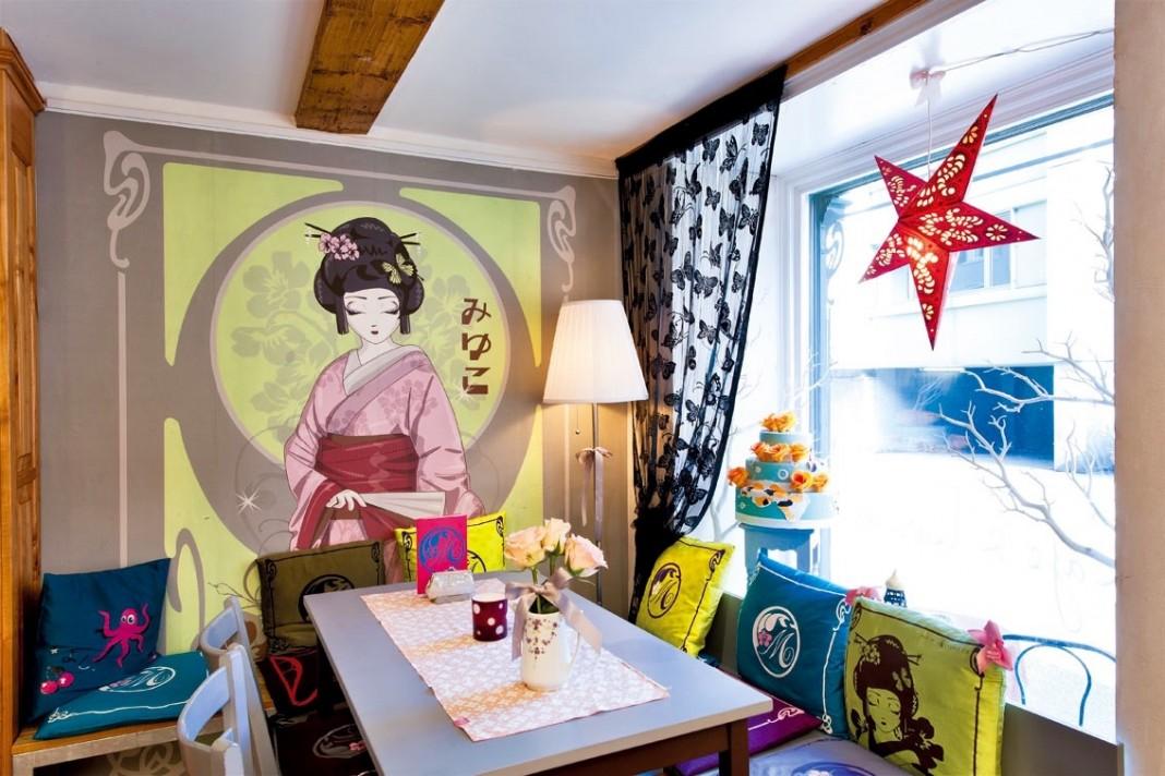 チューリッヒにある『Les Gourmandises de Miyuko』の店内; 出典: | www.miyuko.ch/Manuel Vargas Lepiz | http://www.miyuko.ch