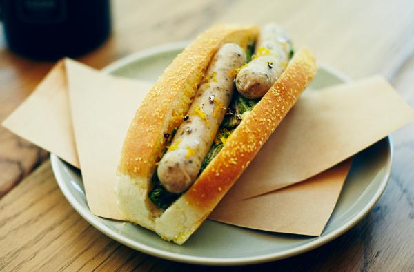 Wuerstchen Sandwich