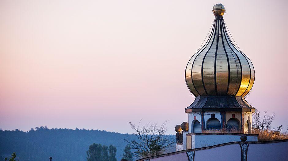 Bad Blumau goldene Kuppel