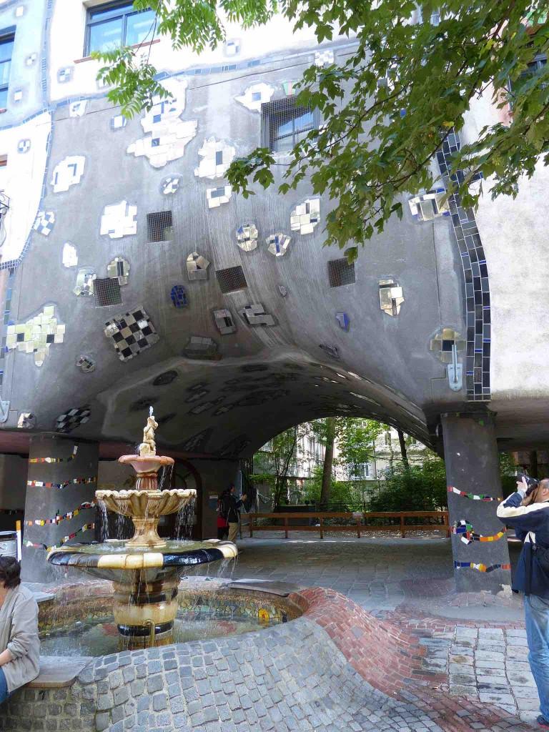 Hundertwasser-Haus Eingang