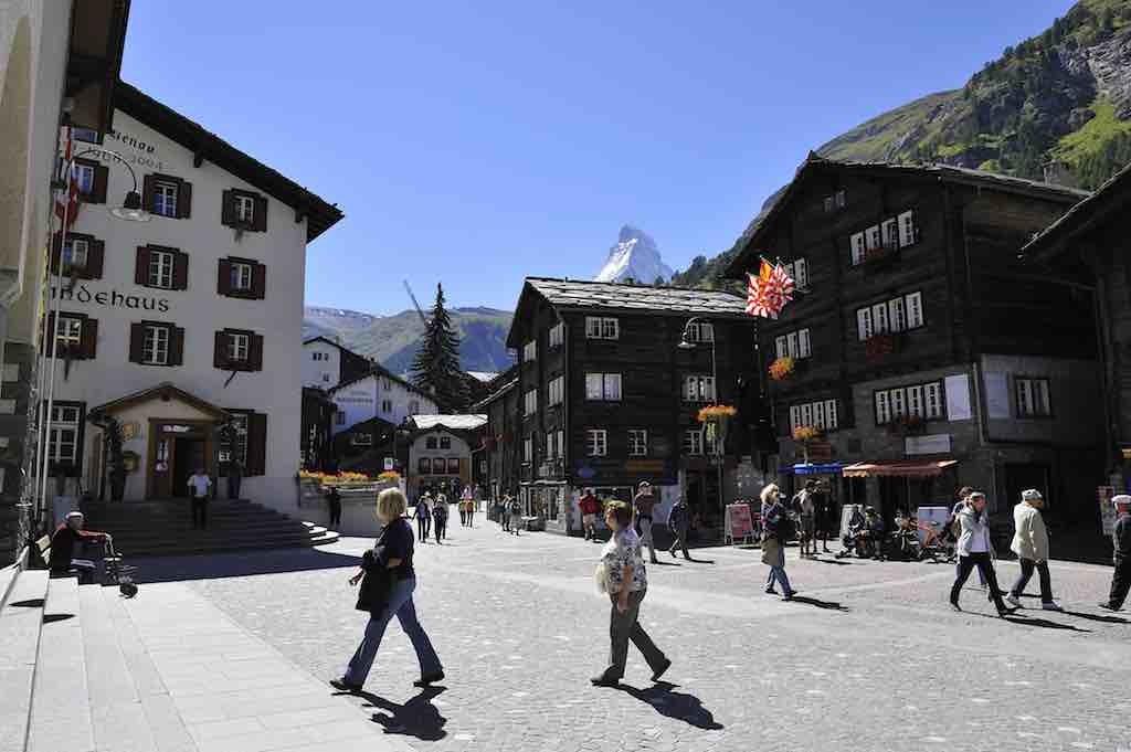 Zermatt Dorf klein