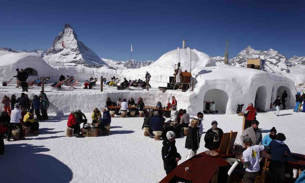 Iglu-Bar Zermatt