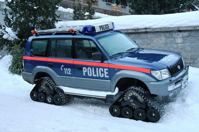 Zermatt Polizeiauto