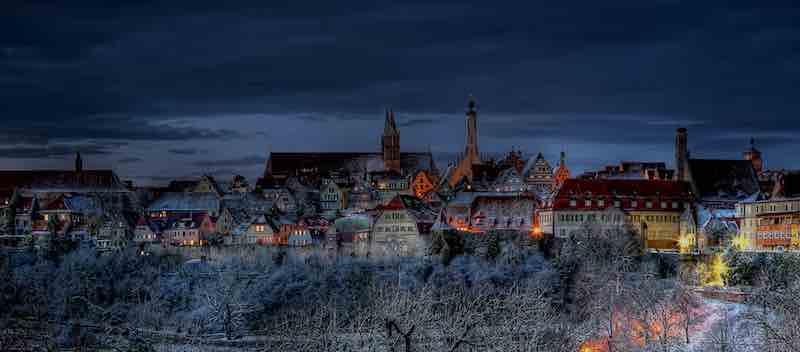 160415 Rothenburg Skyline nachts small