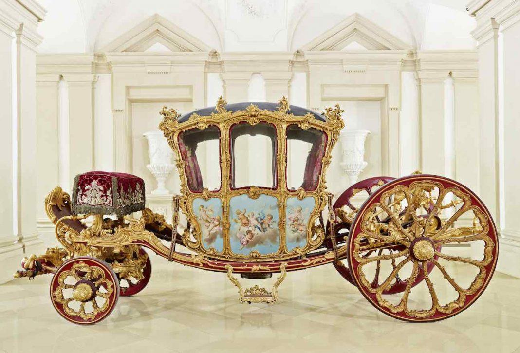 Joseph Wenzel王子の黄金の車; 出典: © Palais Liechtenstein GmbH