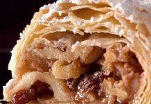 出典: | Wikipedia CC BY-SA 4.0 | http://commons.wikimedia.org/wiki/File:Wiener_Apfelstrudel.jpg#/media/File:Wiener_Apfelstrudel.jpg